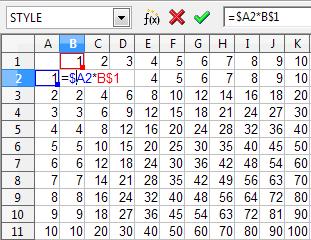 Как сделать формулу умножения в экселе